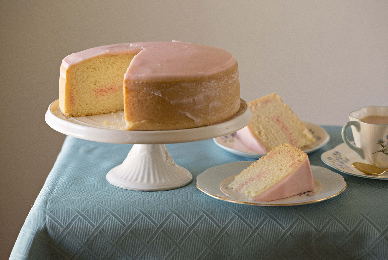 Merle Parrish Peach Blossom Cake