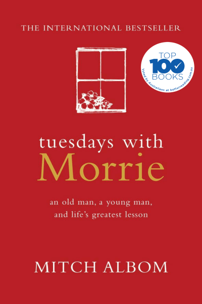 a report of the book tuesdays with morrie The main theme in tuesdays with morrie centers around what one can learn about life through death the book is about a professor, morrie schwartz, who has als one of morrie's former students .