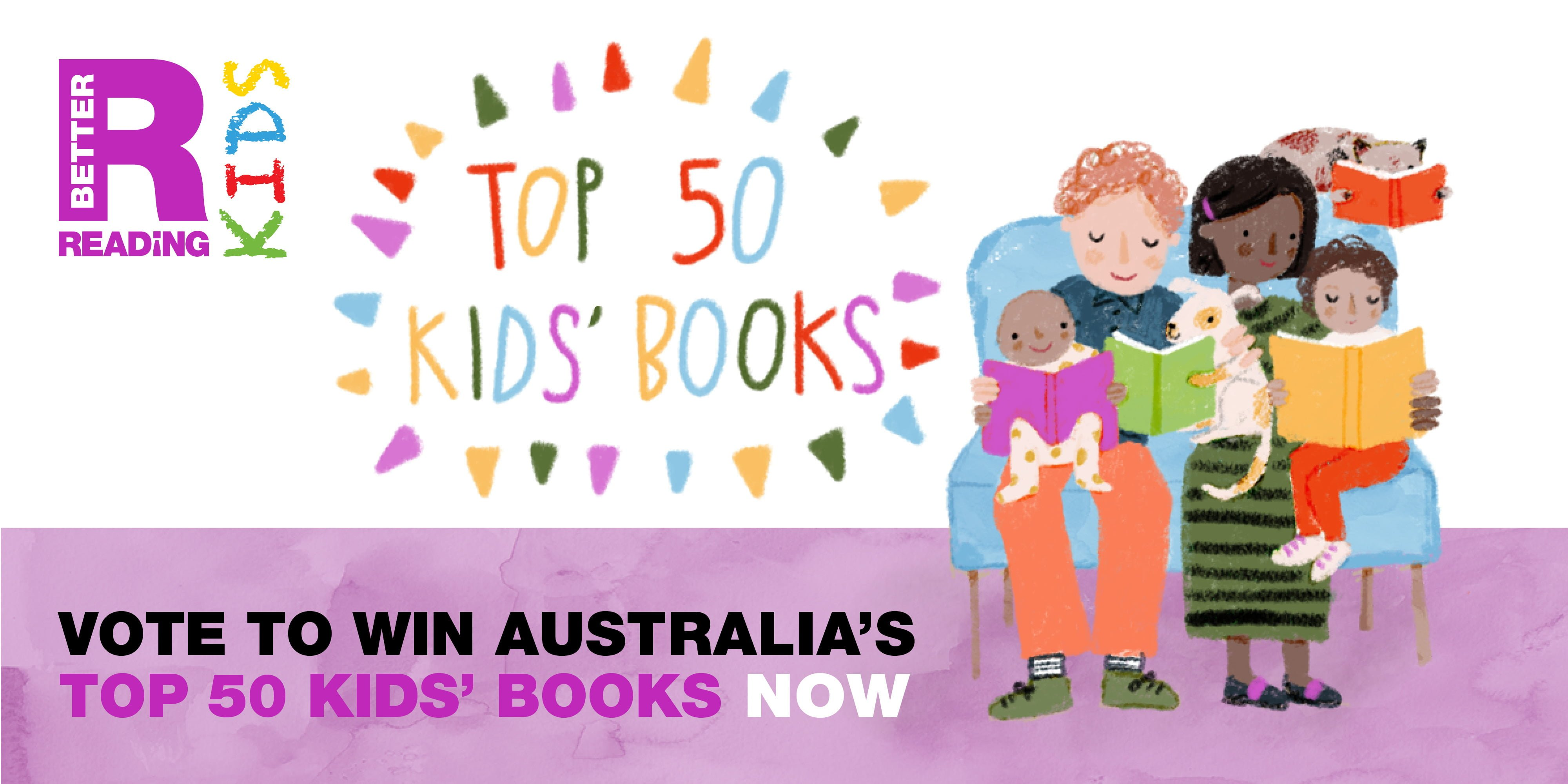0dd9ba0dc Do You Want to Win 50 Amazing Kids  Books  Vote Now! – Better Reading