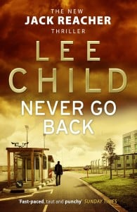 Never Go Back (Jack Reacher #18)