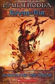 Rowan and the Zebak: Rowan of Rin #4