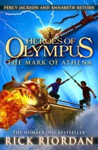 The Mark of Athena: Heroes of Olympus #3