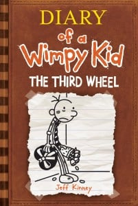 Diary of a Wimpy Kid: The Third Wheel (Wimpy Kid #7)