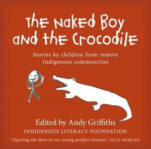 Naked Boy and the Crocodile