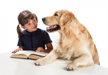 How reading to pets can boost kids' confidence