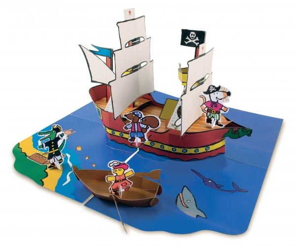 GIVEAWAY: Maisy's Pirate Ship pop-up book