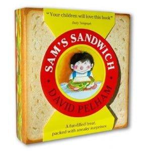Sam's Sandwich pop-up book