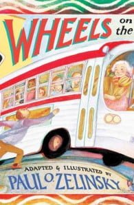 Wheels on the Bus pop up book