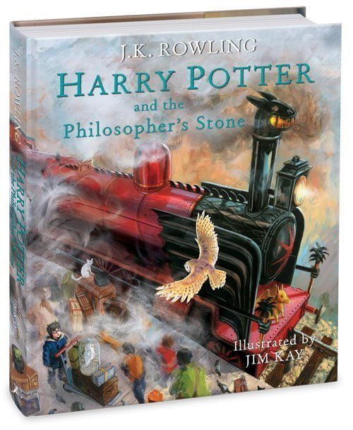 GIVEAWAY: Harry Potter illustrated edition