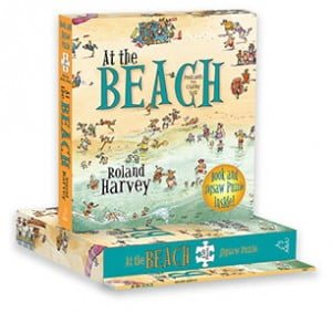 At the Beach Book and Jigsaw