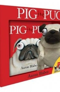 Pig the Pug mini book and plush set