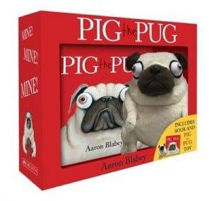 Pig the Pug mini book and plush set