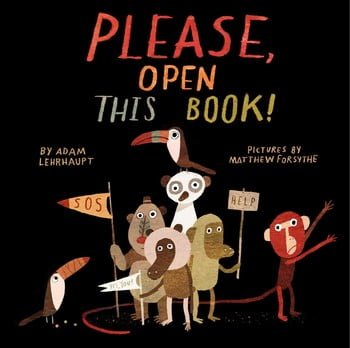GIVEAWAY: Please, Open this Book!