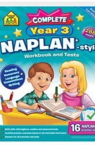 School Zone Naplan-Style Workbook Year 3 Bind-up