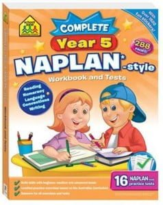 School Zone Complete Year 5 Naplan-Style Workbook and Tests Bind-Up