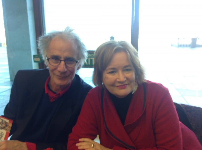Leigh Hobbs and Jackie French at the Canberra Writers Festival