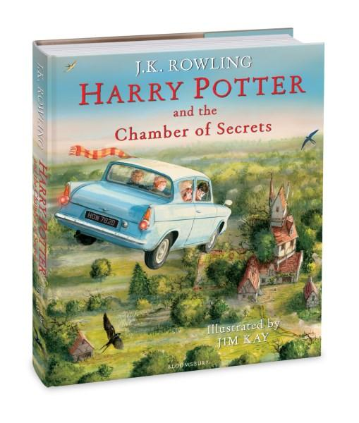 Harry Potter and the Chamber of Secrets (Illustrated Edition : Book 2)