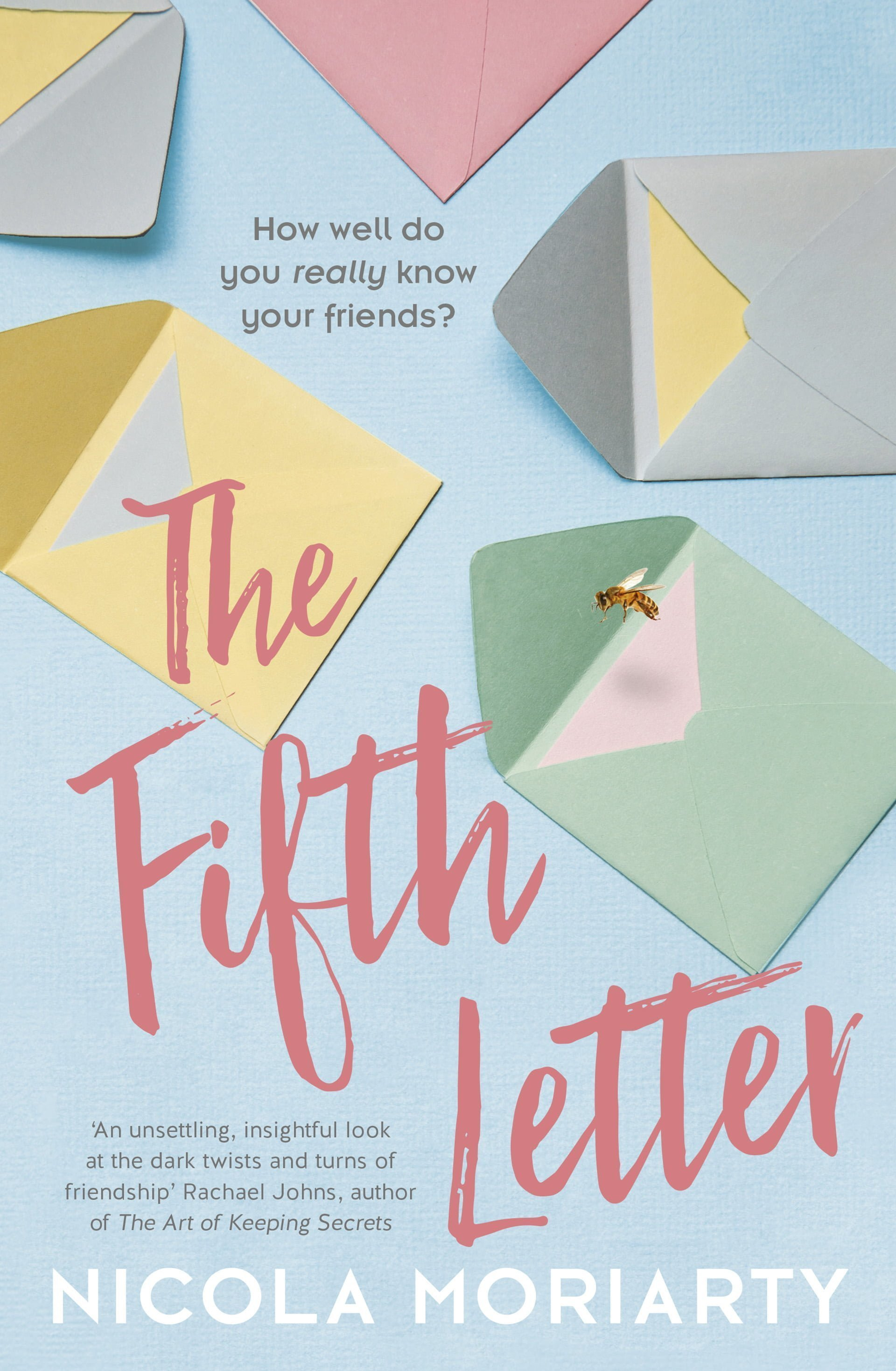 Our Book of the Week: The Fifth Letter by Nicola Moriarty – Better