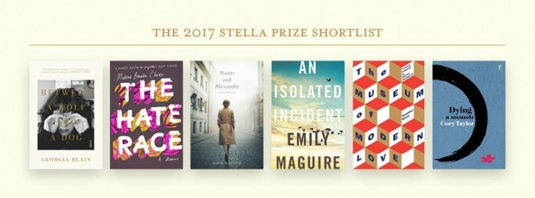Stella Prize 2017: Shortlist Announced
