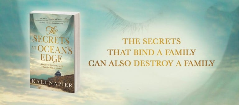 Devastatingly Talented New Author:  Start reading The Secrets at Ocean's Edge by Kali Napier