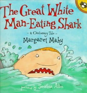 The Great White Man Eating Shark