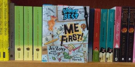 Belly Laughs All Around: Danny Best: Me First! by Jen Storer and Mitch Vane