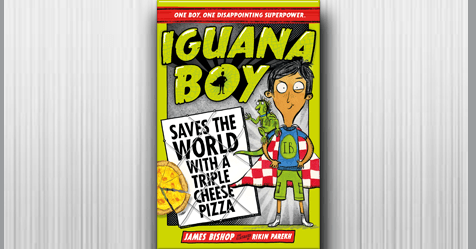 A new superhero is born: Review Iguana Boy Saves the World With a Triple Cheese Pizza