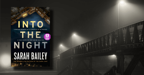Killed on camera: review of Into the Night by Sarah Bailey