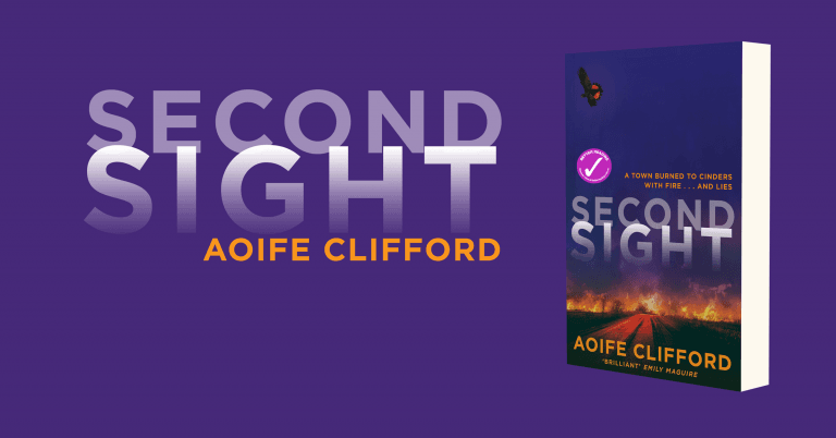 Fiery and Exciting Thriller: Review of Second Sight by Aoife Clifford