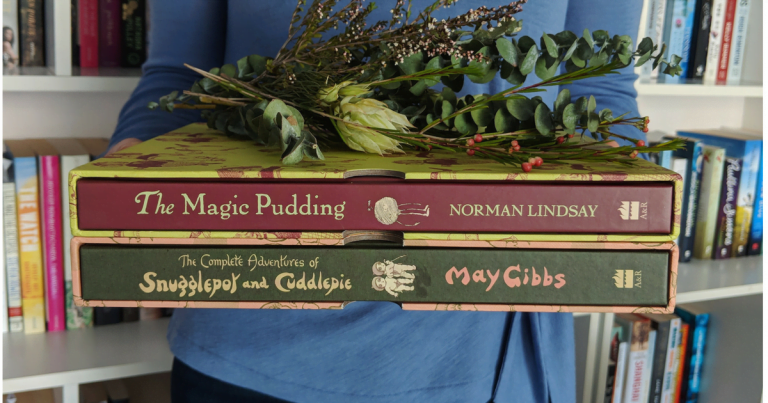 Celebrating Beloved Australian Classics: Special centenary editions of May Gibbs' Snugglepot & Cuddlepie and Norman Lindsay's The Magic Pudding