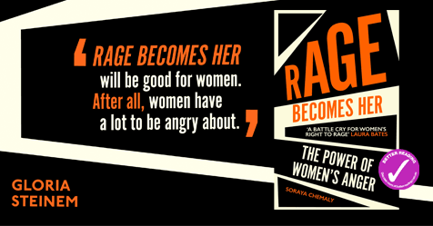 Owning Anger: Review of Rage Becomes Her by Soraya Chemaly