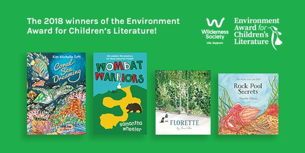 Green Winners: The Wilderness Society Environmental Award for Children's Literature