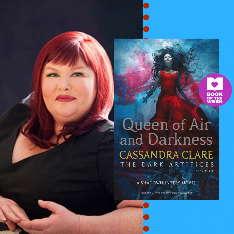 Crazy For Cassandra Clare: Read an extract from Queen of Air and Darkness