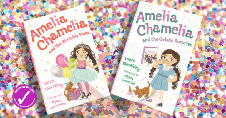 Vibrant Storytelling: Review of the Amelia Chamelia Series by Laura Sieveking, Illustrated by Alyssa Bermudez