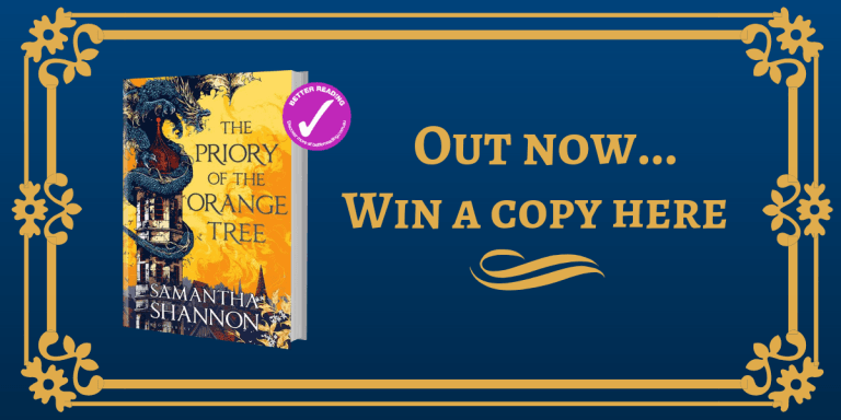 Giveaway: Ten copies of enchanting new fantasy novel, The Priory of the Orange Tree, up for grabs