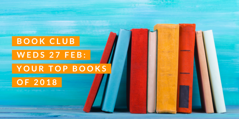First Book Club of 2019: Join us to discuss your favourite books of 2018