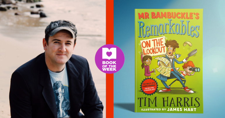 Mr Bambuckle Returns: Read an extract from Mr Bambuckle's Remarkables: On the Lookout by Tim Harris