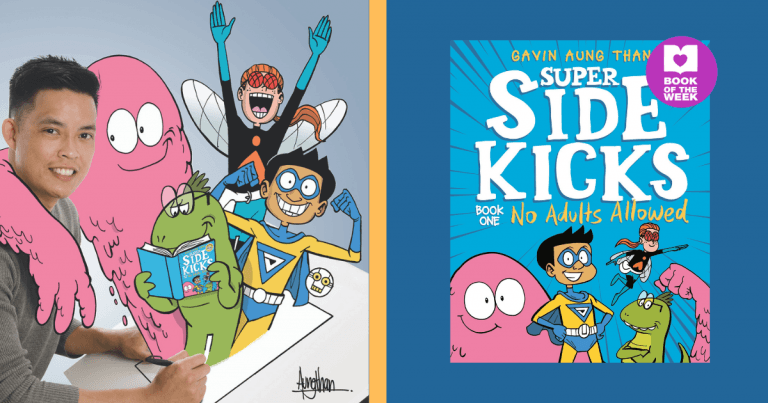 Action Packed With a Twist: Read an extract from Super Sidekicks #1: No Adults Allowed by Gavin Aung Than