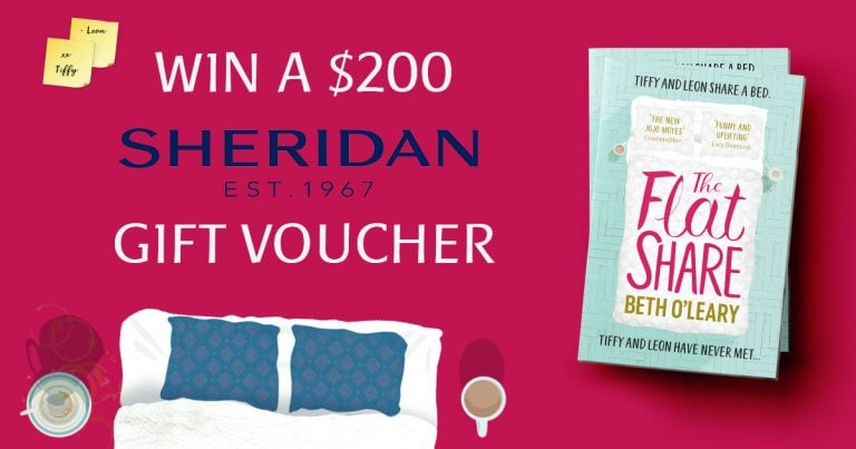 Celebrating the release of Beth O'Leary's The Flatshare with a Sheridan voucher giveaway!