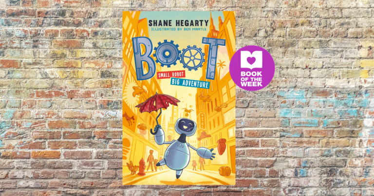 Robot With a Heart: Read an extract from Boot: Small Robot, Big Adventure by Shane Hegarty