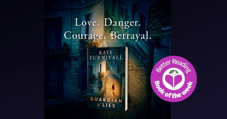 This is Brilliant Storytelling: Review of The Guardian of Lies by Kate Furnivall