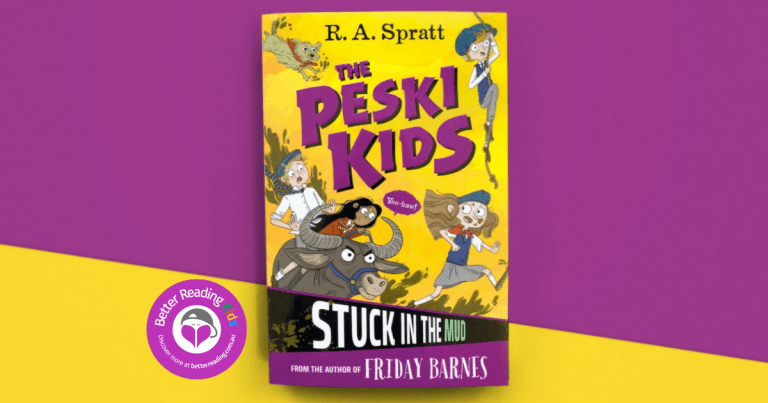 Spies, criminal masterminds, lots of laughs… and mud: Review of The Peski Kids: Stuck in the Mud