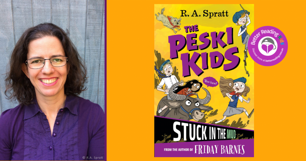 Chaos Parachutes into Currawong: Read an extract from The Peski Kids: Stuck in the Mud