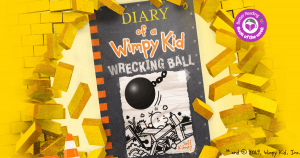 Another Wimpy Kid Winner: Review of Diary of a Wimpy Kid #14 Wrecking Ball by Jeff Kinney