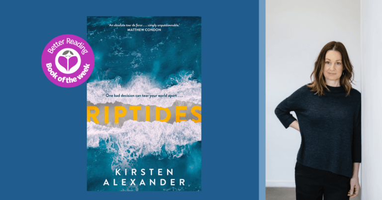 Riptides Author, Kirsten Alexander says Researching the 1970s was Great Fun