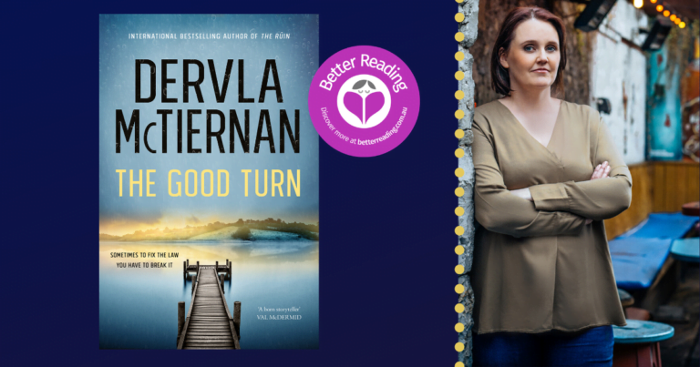 I'm Influenced by Creative People: The Good Turn Author on What Inspires Her