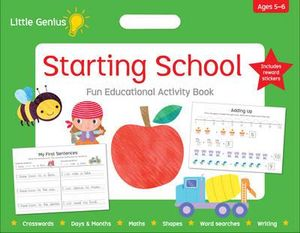 Starting School: Fun Educational Activity Book