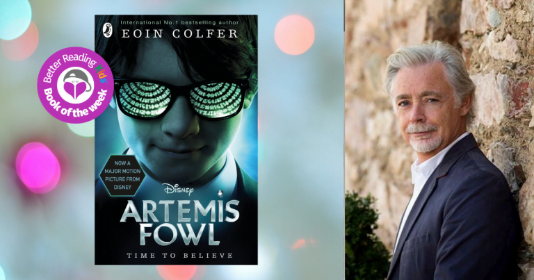 Die Hard, with fairies : Q&A with Eoin Colfer,  author of Artemis Fowl