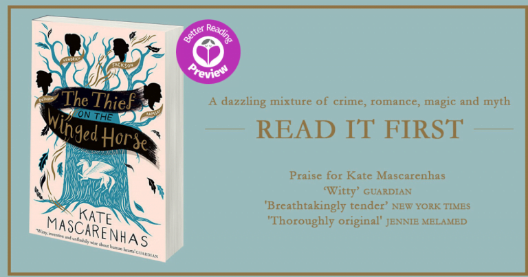 Better Reading Preview: The Thief on the Winged Horse by Kate Mascarenhas