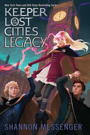 Legacy: Keeper of the Lost cities #8